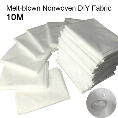 10M/50M/20MNonwoven Fabric Face Craft Fusible Interlining Meltblown Filter Layer