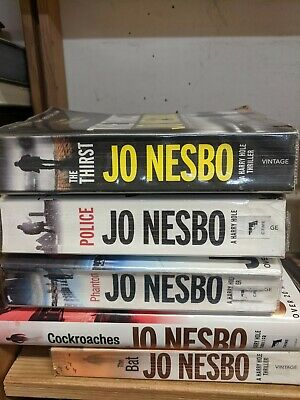 Collection of Harry Hole books, by Jo Nesbo: 5 adult fiction books