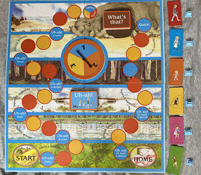 We're Going On A Bear Hunt Book And Board Game (DVD Missing)