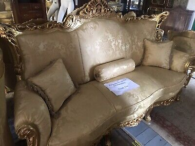 Four Piece French Carved Sofa Set New