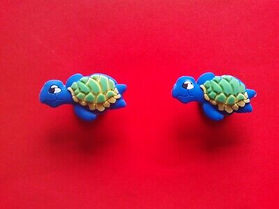 2 Disney Goofy jibbitz crocs shoe charms loom wrist hair band cake toppers