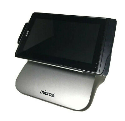 Micros mStation POS Tablet & Stand 400374-020 Touchscreen Workstation