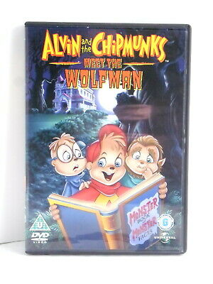 ALVIN AND THE CHIPMUNKS MEET THE WOLFMAN - Region 2 DVD