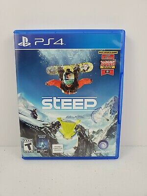 Steep (Sony PlayStation 4, 2016) No Manual Tested and Works