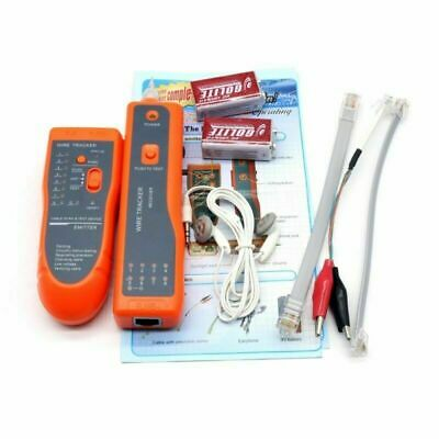 Telephone Network Cable Wire Line LAN Cable RJ45/11 Tracker Toner Tracer Tester