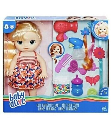 Baby Alive Hairstyles Baby Doll With Hair Accessories Kids Children New Toy