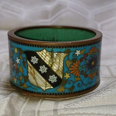 Antique Coat Of Arms Napkin Ring