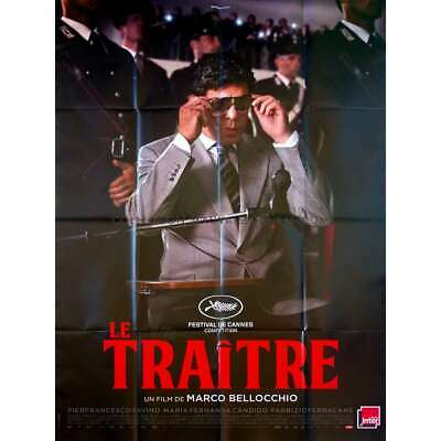 IL TRADITORE / THE TRAITOR Original Movie Poster  - 47x63 in. - 2019 - Marco Bel