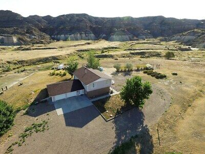 Hobby Farm with custom built home on 6 acres for sale in Eastern Montana