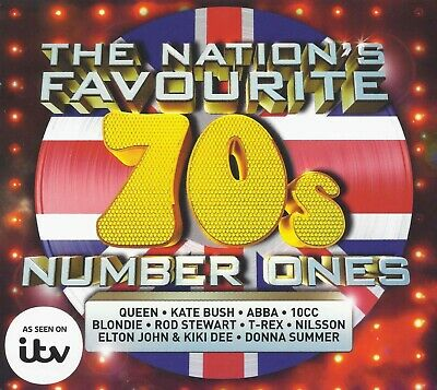 VA - The Nation's Favourite 70s Number Ones 4CD & TOP 70s 100 Hits  (Digital CD)