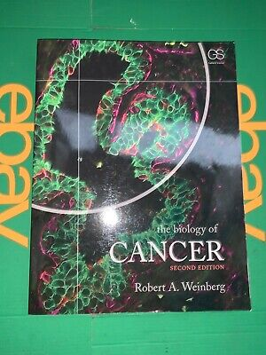 Biology of Cancer, Robert A Weinberg (2nd ed) - Used,very good