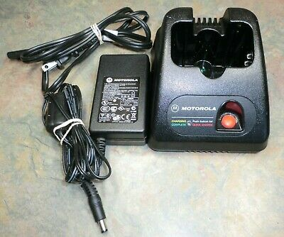 OEM Motorola SP50 SP50+ Portable Radio Battery Charger HTN9013B NU20 Walkie