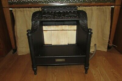Antique Vintage Cast Iron Reznor No 608 Gas Heater #1316