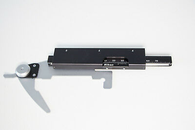 Refurbished Nikon Alphaphot YS Stage Component with Very Smooth Bearings