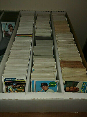 1968 1969 TOPPS BASEBALL Complete your set You U Pick Free Shipping VG+ No Junk!