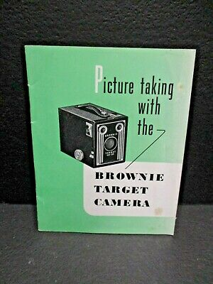 Kodak Brownie Target camera instruction book in English. 23 pages