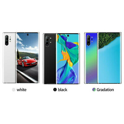NOTE10+Plus 6.8'' Unlocked Smartphone 6+128G Android 9.1 HD Dual SIM Mobile