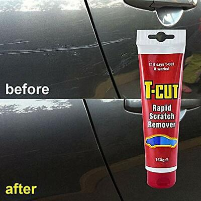 T-Cut Rapid Paintwork Scratch Remover Car Polish 150g Fast Free Post