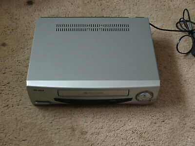 Bush vhs video recorder silver working