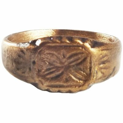 ANCIENT BYZANTINE WOMAN'S RING 8th-12th CENTURY AD SIZE 7 ½