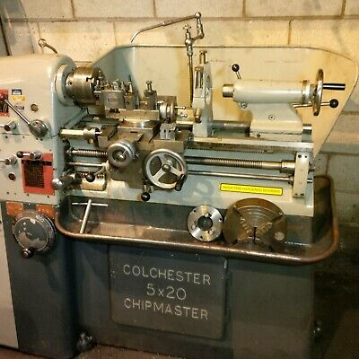 COLCHESTER! ..COLCHESTER CHIPMASTER LATHE..c/w tooling in EXCELLENT CONDITION
