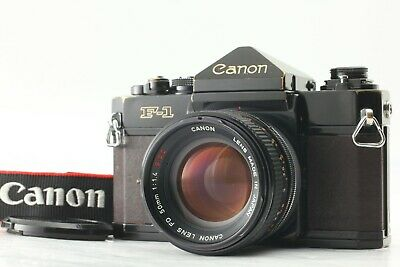 【EXC++++4】 Canon F-1 SLR Film Camera Body w/ FD 50mm f/1.4 S.S.C. From JAPAN #36