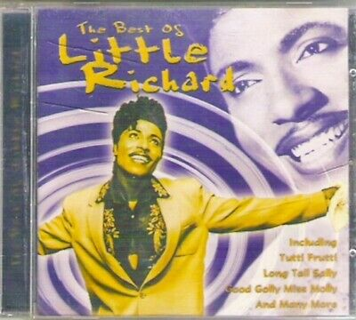 THE BEST OF LITTLE RICHARD CD Rock'n'roll Greatest Hits 17 track Cedar Classic