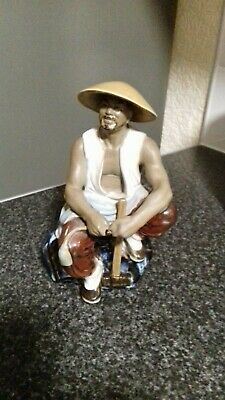 Vintage Chinese Shiwan Mudman   Figurine in Excellent Condition .