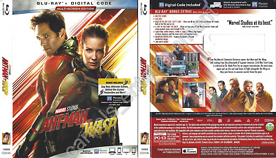 Ant-Man and the Wasp (SLIPCOVER ONLY for Blu-ray)