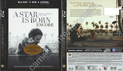 A Star Is Born (SLIPCOVER ONLY for Blu-ray, Special Encore Edition)