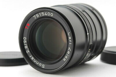 【MINT】 Contax G Black Carl Zeiss Sonnar T* 90mm F2.8 for G1 G2 from JAPAN 462