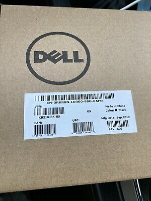 Dell Wired Keyboard KB216-BK-US - NEW!!