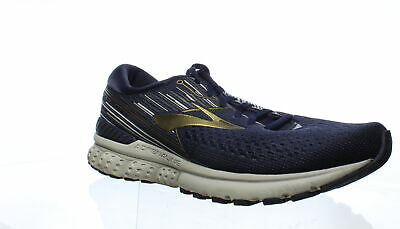 Brooks Mens Adrenaline Gts 19 Navy/Gold/Grey Running Shoes Size 11.5 (2E)