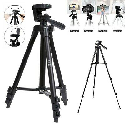 """60"""" Inch Pro Series Camera/Video Tripod for DSLR Cameras/Camcorders bl"""