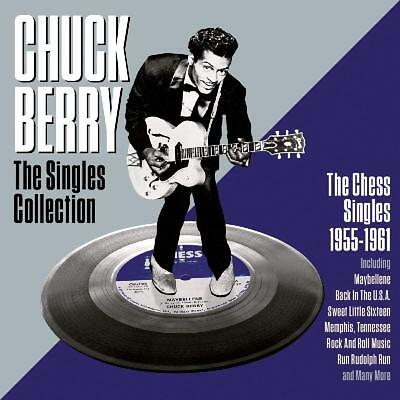 Chuck Berry ~ Singles Collection NEW 2CD Rock And Roll Hits / Best Of 1955 - 61