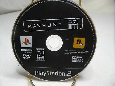 Manhunt (Sony PlayStation 2, 2003) Disc only