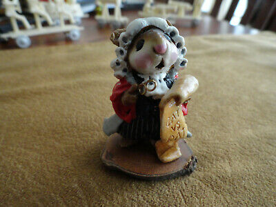 WFF Wee Forest Folk Barrister Mouse!  RARE!