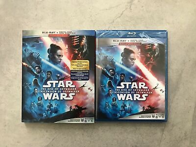 Star Wars - The Rise of Skywalker  - Blu-ray + Digital, Bilingual - NEW - FRENCH