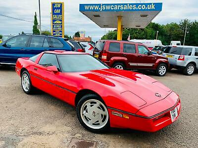 1989 Chevrolet Corvette 5.7 V8 Auto - Targa Top. Leather. LHD. USA.
