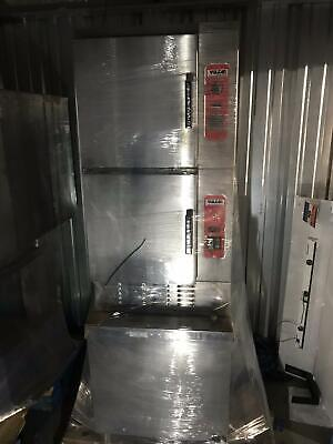 Vulcan C24EA10 Electric Double Stack Steamer Oven Full size