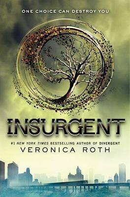 Insurgent by Veronica Roth Divergent Series Book 2 Hardcover 1st Ed Brand NEW
