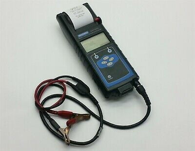 Midtronics EXP-800 Battery Electronical Diagnostic Analyzer Printer +Clamp Leads