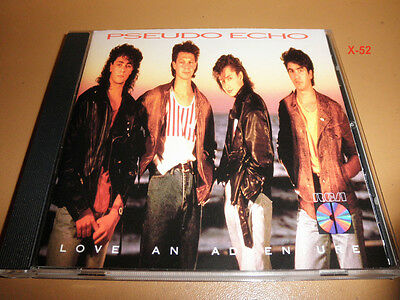 PSEUDO ECHO cd LOVE AN ADVENTURE #1 hit FUNKYTOWN living in a dream RCA JAPAN