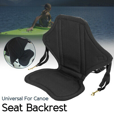 Canoe Inflatable Boat Seat Storage Bag with Padded Seat Cushion T3P5
