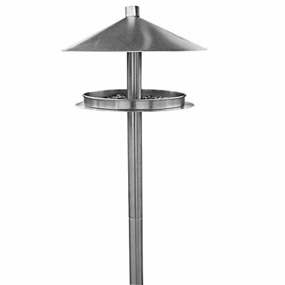 HABAU 1772 Feeding Station Stainless Steel with Stand