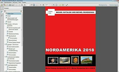 MICHEL Nordamerika 2018 USA Canada St. Pierre catalog in P.D.F