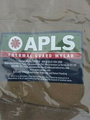 New MYLAR-lined Improved APLS Thermal Guard US Military Cold Weather Litter