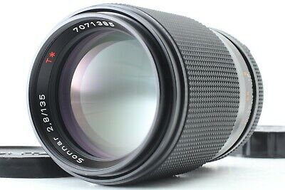 【EXCELLENT++++4】 CONTAX Carl Zeiss Sonnar T* 135mm f2.8 MF Lens MMJ from JAPAN