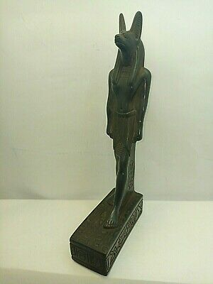 RARE ANCIENT EGYPTIAN ANTIQUE ANUBIS Statue Stone 1452-1236 BC