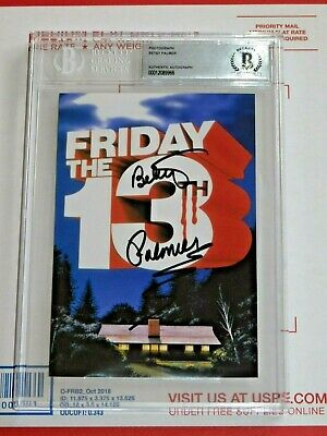 🔥 Friday the 13th Signed BETSY PALMER slabbed BECKETT BGS autograph AUTO 🔥